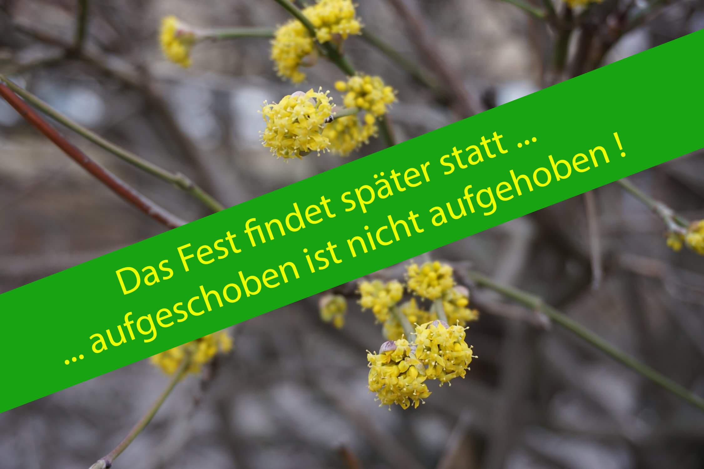Internationales Frühlingsfest in Altglienicke ist verschoben