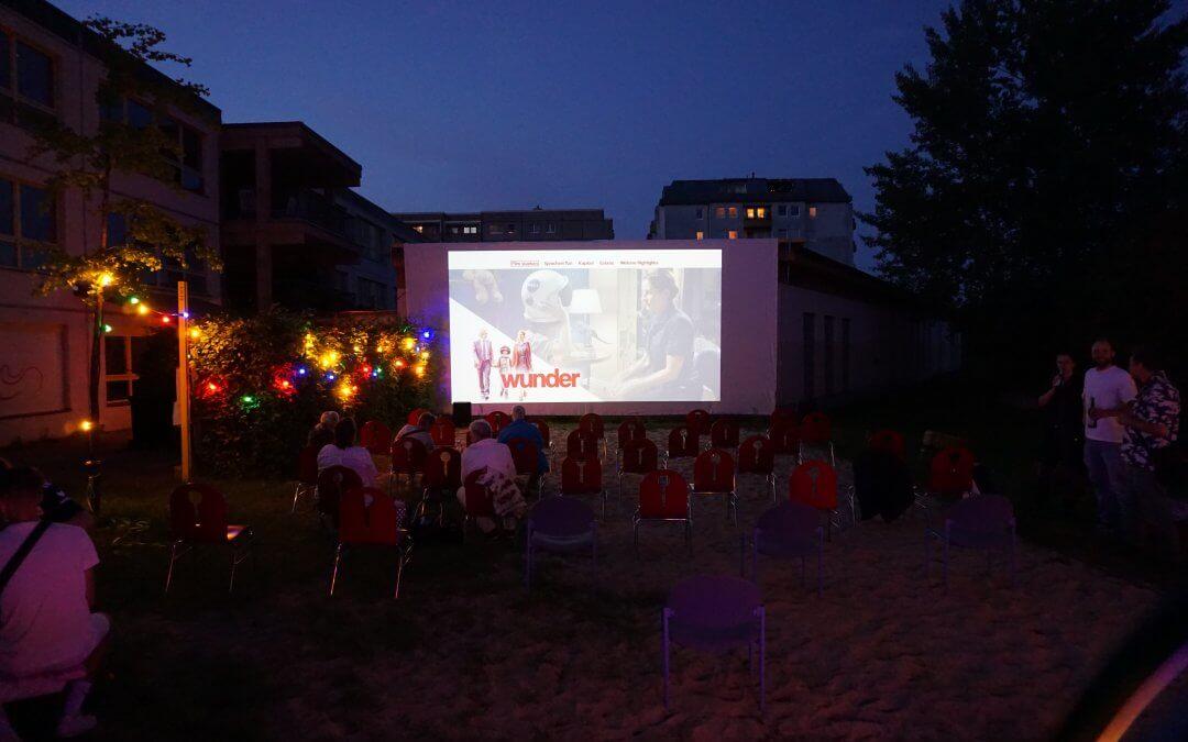 Erste Altglienicker Filmnacht am 12.09.20
