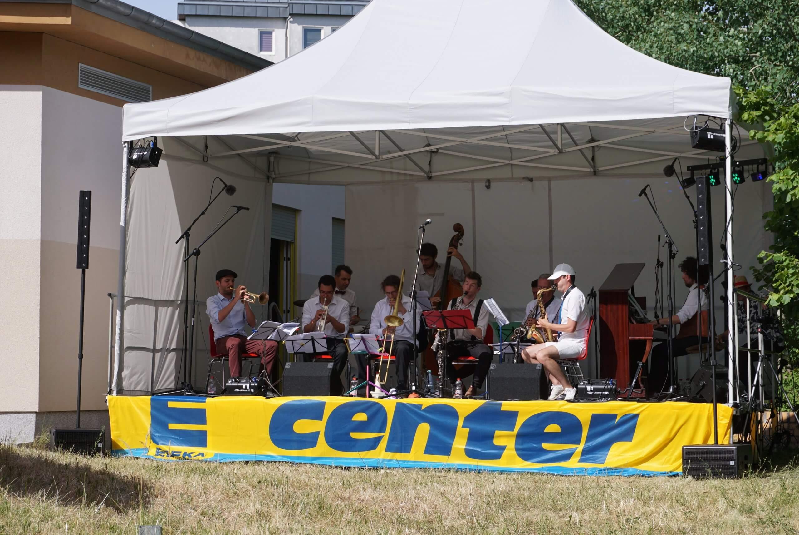 Auftritt des Syncopation Society Orchestra.
