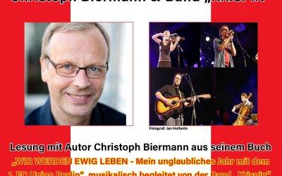 """Altglienicker Kulturwochen mit Christoph Biermann mit der Band """"KRISPIN"""""""
