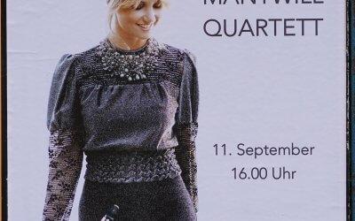 Jazzkonzert des FABIA MANTWILL QUARTETTS bei den Altglienicker Kulturwochen